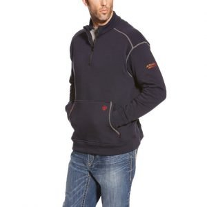 FR Men's 1/4 Zip Fleece Polartec Jacket